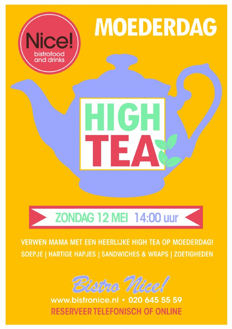 Nice! Moederdag High Tea 2019